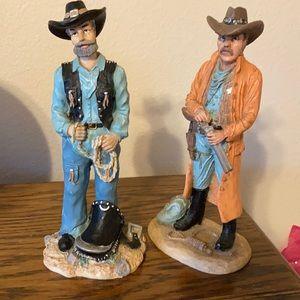 Cowboy statues